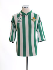 2007-08 Real Betis Home Shirt *Mint* XXL