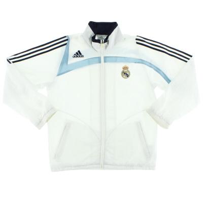 2007-08 Real Madrid adidas Track Jacket L