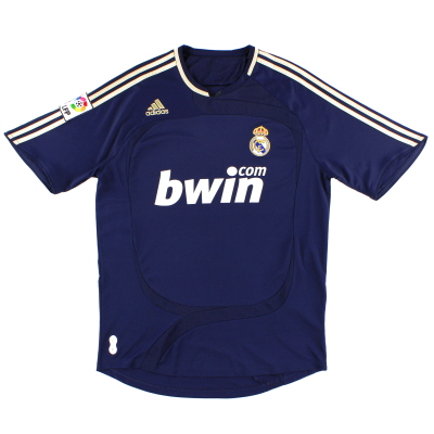 2007-08 Real Madrid Away Shirt L
