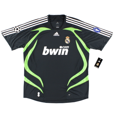 2007-08 Real Madrid Champions League Third Shirt *w/tags* XL