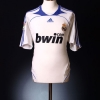 2007-08 Real Madrid Home Shirt Sergio Ramos #4 S