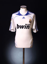 2007-08 Real Madrid Home Shirt XL.Boys