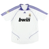 2007-08 Real Madrid Home Shirt van der Vaart #19 S