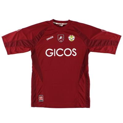 2007-08 Reggina Home Shirt XL