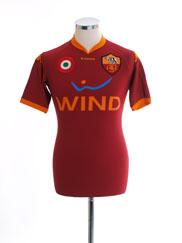 2007-08 Roma Home Shirt XS