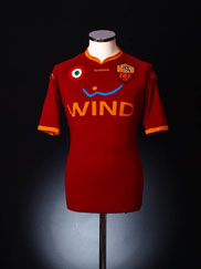 2007-08 Roma Home Shirt XL