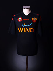 2007-08 Roma Third Shirt De Rossi #16 *BNWT* XL