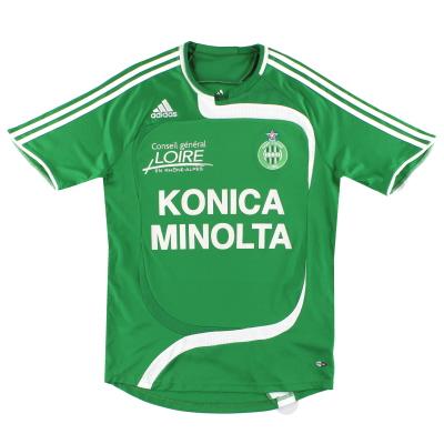 2007-08 Saint Etienne adidas Home Shirt S