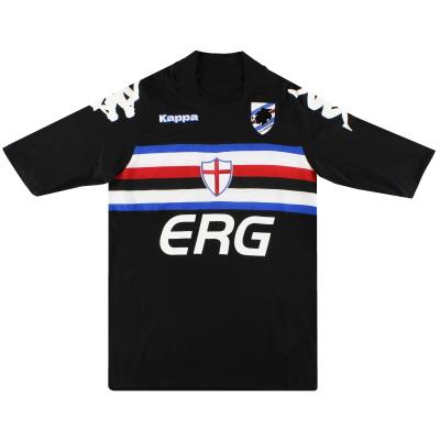 2007-08 Sampdoria Kappa Third Shirt XL