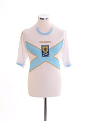 2007-08 Scotland Away Shirt S