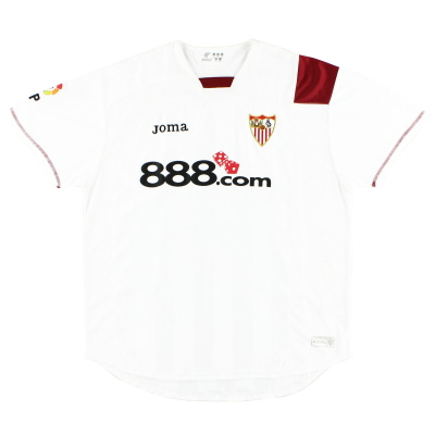 2007-08 Sevilla Home Shirt XL