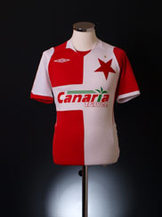 2007-08 Slavia Prague Home Shirt S