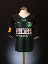 2007-08 St Gallen Home Shirt M/L