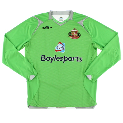 2007-08 Sunderland Goalkeeper Shirt M