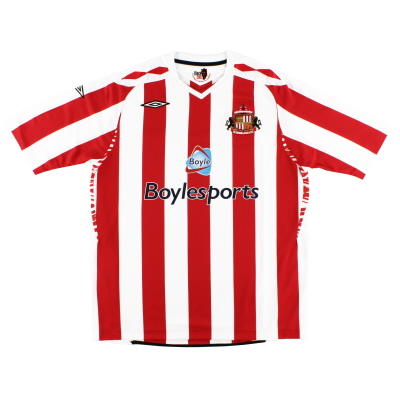 2007-08 Sunderland Home Shirt *Mint* XL