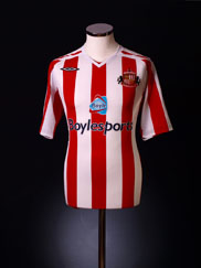 2007-08 Sunderland Home Shirt *As new* L