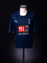 2007-08 Tottenham Away Shirt L