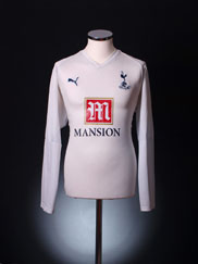 2007-08 Tottenham Home Shirt L/S XL