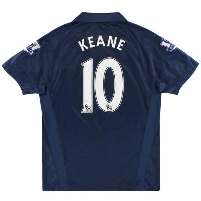 2007-08 Tottenham Puma Away Shirt Keane #10 L