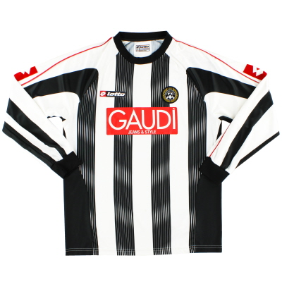 2007-08 Udinese Home Shirt L/S L