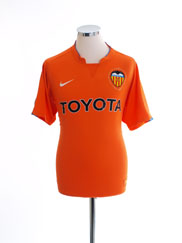 2007-08 Valencia Away Shirt M