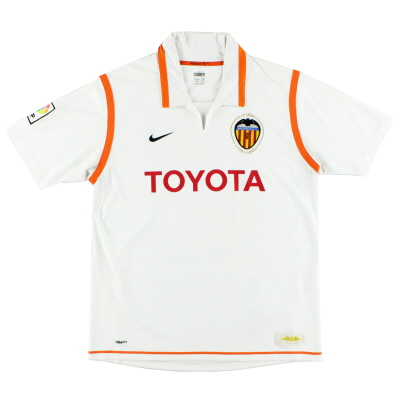 2007-08 Valencia Home Shirt L