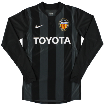 2007-08 Valencia Nike Player Issue Goalkeeper Shirt *Mint* S