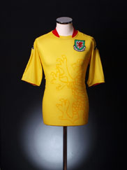 2007-08 Wales Away Shirt XL