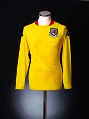 2007-08 Wales Player Spec Away Shirt #No9 L/S