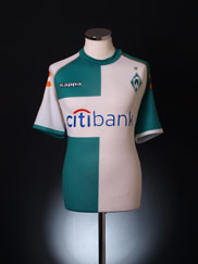 2007-08 Werder Bremen Away Shirt L