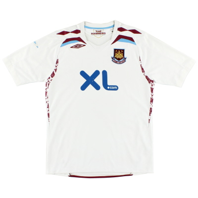 2007-08 West Ham Away Shirt L