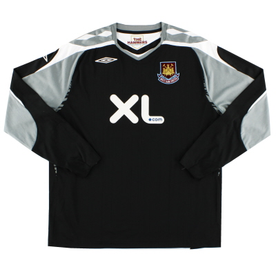 2007-08 West Ham Goalkeeper Shirt XXL