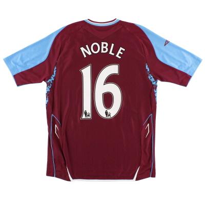 2007-08 West Ham Home Shirt Noble #16 M