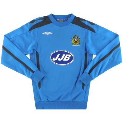 2007-08 Wigan Umbro Sweatshirt S