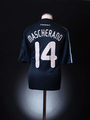 2007-09 Argentina Away Shirt Mascherano #14 *Mint* XL