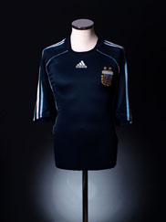 2007-09 Argentina Away Shirt XL