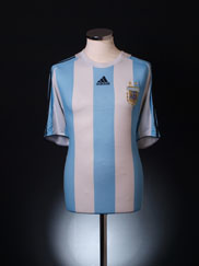2007-09 Argentina Home Shirt XL