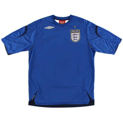 2007-09 England Goalkeeper Shirt L