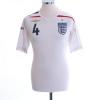2007-09 England Home Shirt Gerrard #4 M