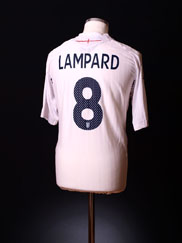 2007-09 England Home Shirt Lampard #8 *BNWT* XL