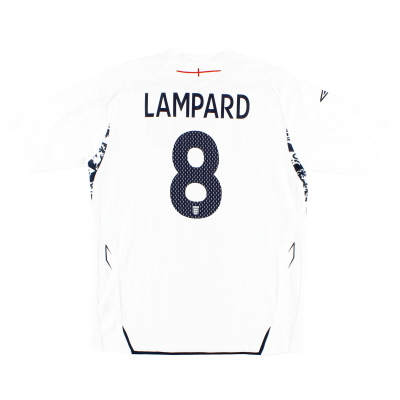 2007-09 England Home Shirt Lampard #8 L