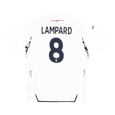 2007-09 England Home Shirt Lampard #8 L