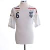 2007-09 England Home Shirt Terry #6 L
