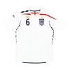 2007-09 England Home Shirt Terry #6 L