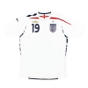 2007-09 England Home Shirt Wright-Phillips #19 *Mint* L