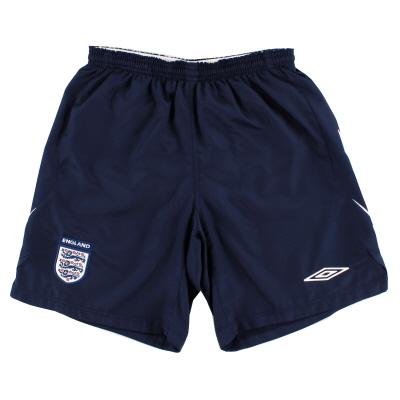 2007-09 England Home Shorts M