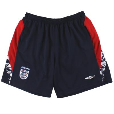 2007-09 England Umbro Training Shorts L