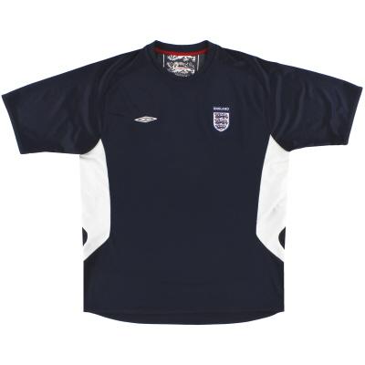 2007-09 England Umbro Training Shirt L