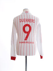 2007-09 Hamburg European Home Shirt Guerrero #9 L/S M