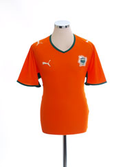 2007-09 Ivory Coast Home Shirt *Mint* XL